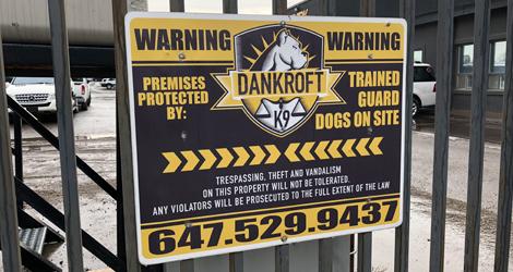 Compound Guard Dogs